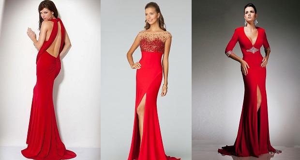 5eb5e916640 Κόκκινα φορέματα ιδέες - Δυναμική Γυναίκα