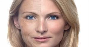 γερασμένο δέρμα μακιγιάζ