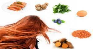 τροφές για γερά μαλλιά