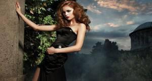 μακιγιάζ για μαύρο φόρεμα