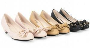 παπούτσια με χαμηλό τακούνι