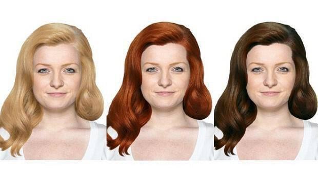 απόχρωση μαλλιών
