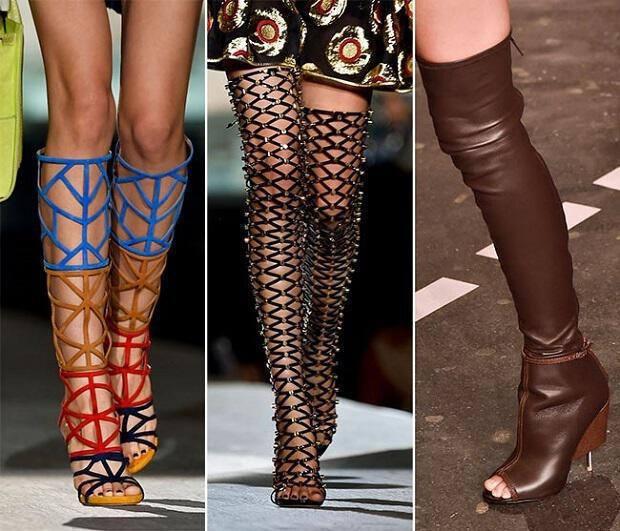 παπούτσια άνοιξη καλοκαίρι 2015 τάσεις μόδας