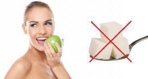 δίαιτα χωρίς ζάχαρη