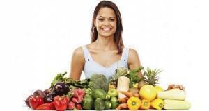 δίαιτα με λαχανικά και φρούτα