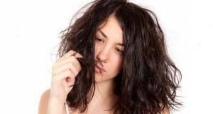 σπασμένα μαλλιά