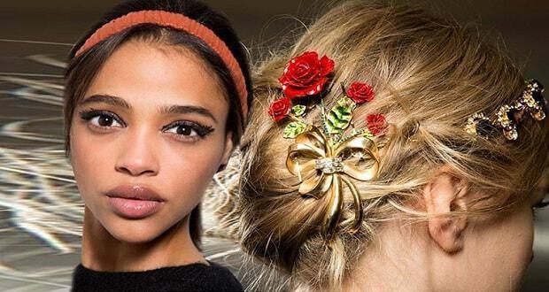 αξεσουάρ μαλλιών Χειμώνας 2016