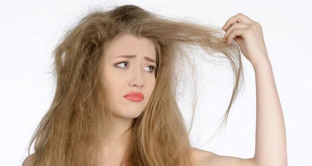 πολύ ξηρά μαλλιά