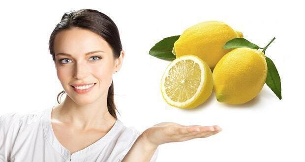 καθαρό πρόσωπο με λεμόνι