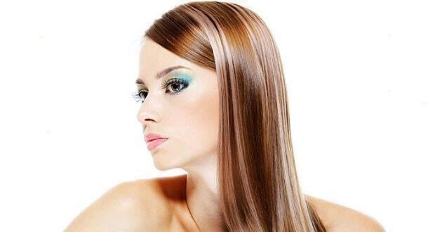 περιποίηση μαλλιών με ανταύγειες
