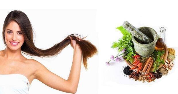 θεραπεία με βότανα για υγιή μαλλιά