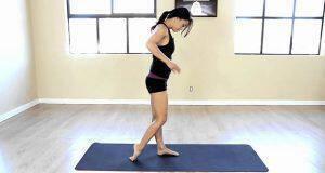 ασκήσεις για λεπτά πόδια