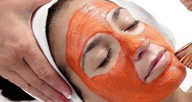 μάσκα προσώπου με ντομάτα
