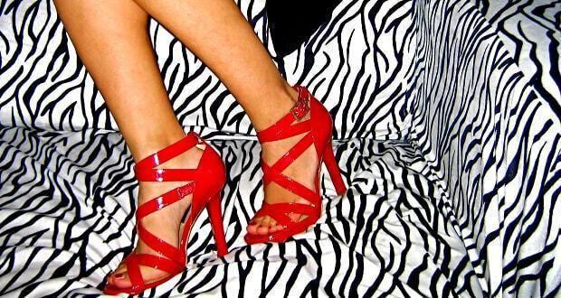 κόκκινα παπούτσια