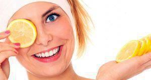 καλλυντικά προϊόντα με λεμόνι