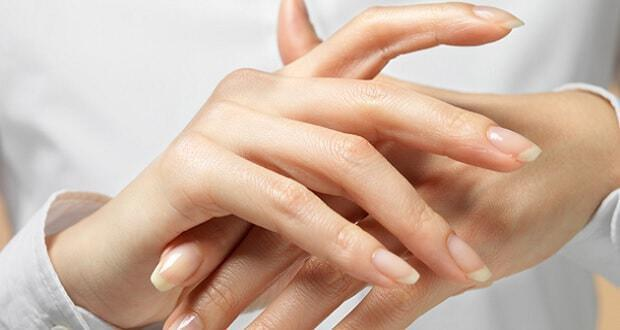 μάσκες χεριών με ελαιόλαδο