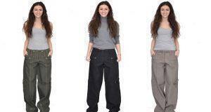 πώς να φορέσεις ένα φαρδύ παντελόνι