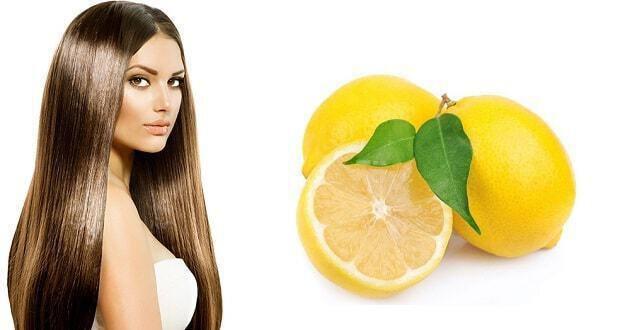 λεμόνι στα μαλλιά