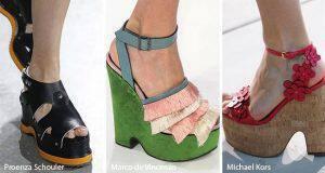 παπούτσια άνοιξη – καλοκαίρι 2017 τάσεις μόδας