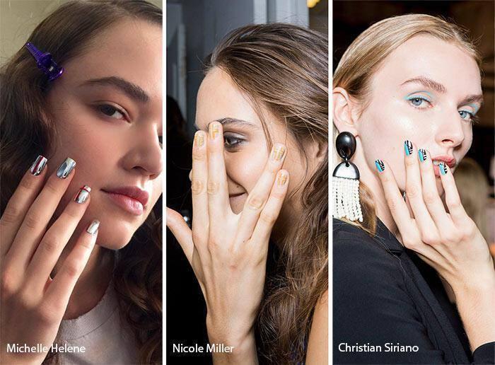 Με γραμμές νύχια άνοιξη – καλοκαίρι 2017