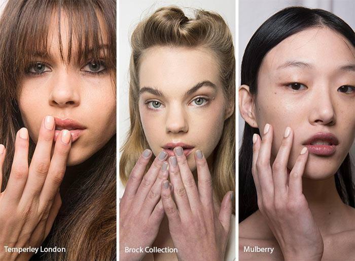 Nude νύχια άνοιξη – καλοκαίρι 2017