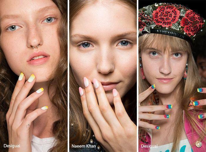 Ombre νύχια άνοιξη – καλοκαίρι 2017