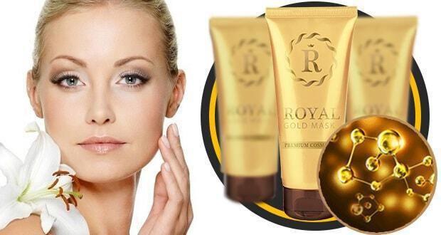 καταπολέμηση ρυτίδων royal gold mask