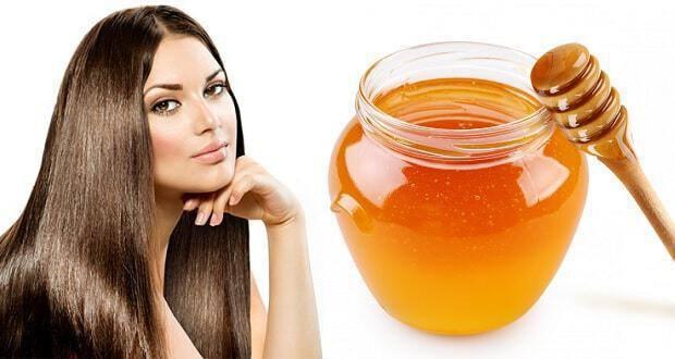 μάσκα μαλλιών με μέλι