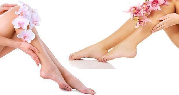 τέλειο ξύρισμα ποδιών