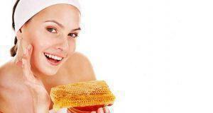 μάσκες προσώπου με μέλι